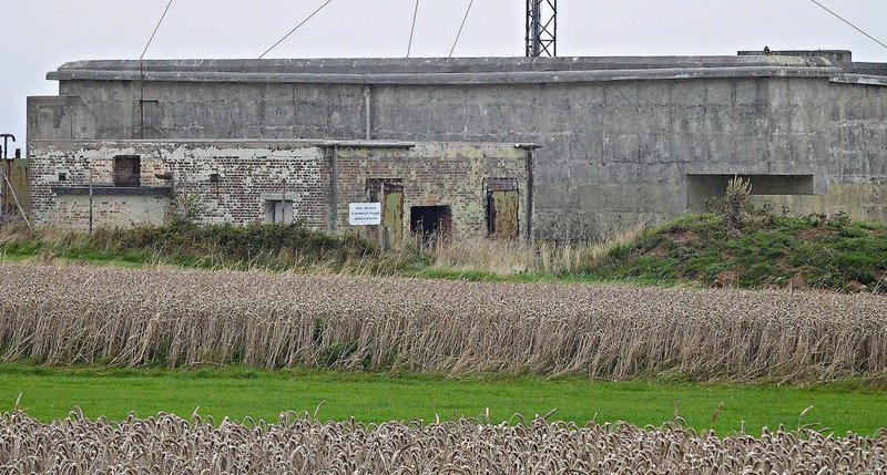 Hope Cove Bunker at East Soar and grass runway