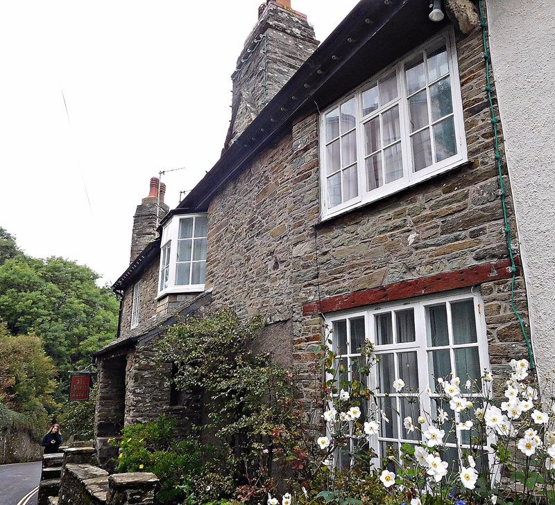 Oldest house in Salcombe