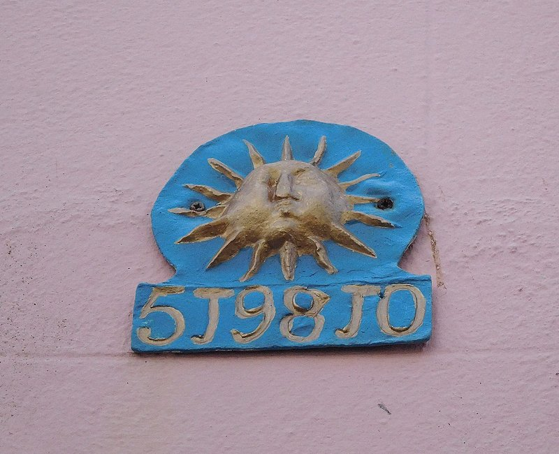 Salcombe old insurance badge