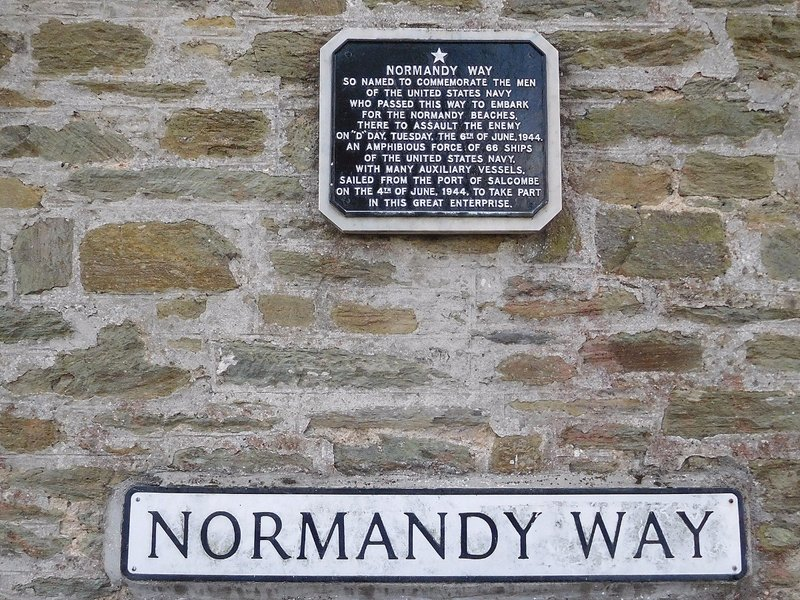 Normandy Way Salcombe