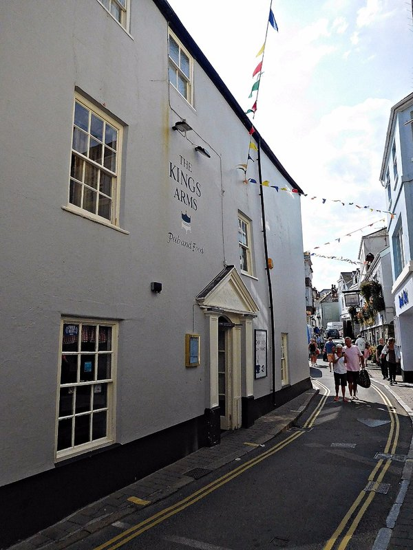 The Kings Arms Salcombe Fore Str
