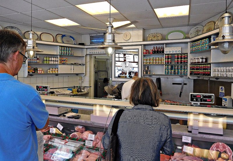 Butchers shop Salcombe