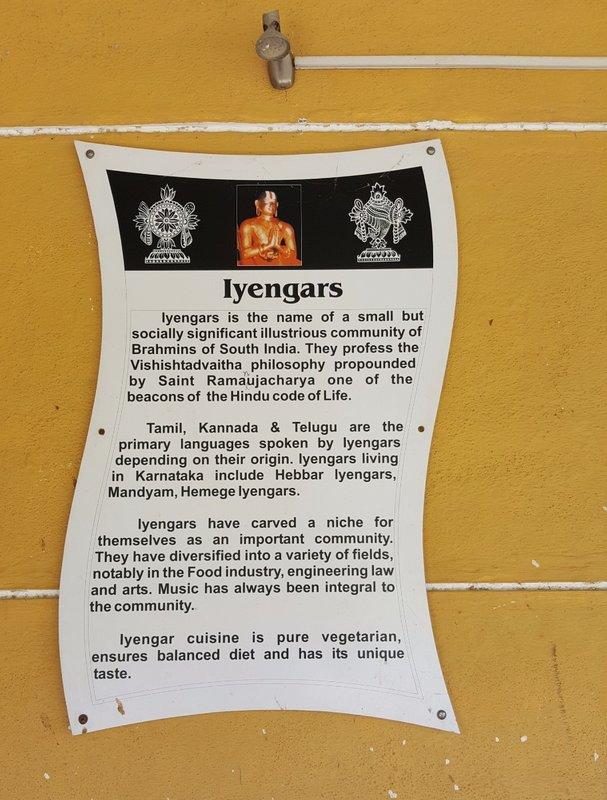 SANG 2b At the  Iyengar restaurant