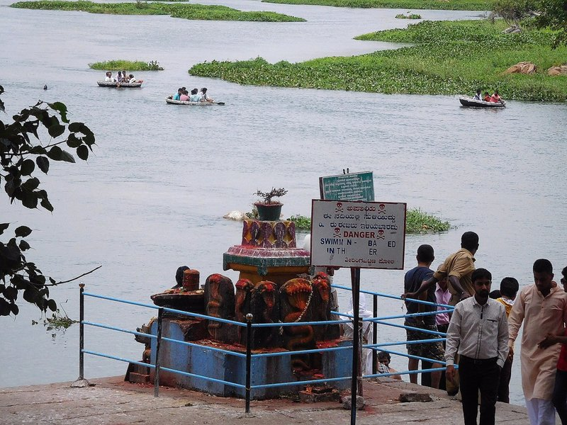 SANG 3b Another view of the sangam at Srirangapatna