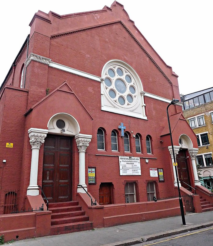 Shiloh Pentacostal Church in Ashwin Street