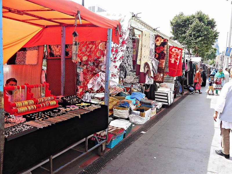 Stalls Whitechapel Road