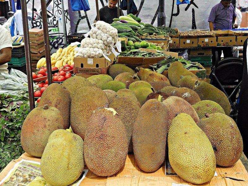 Jackfruits in Whitechapel Rd