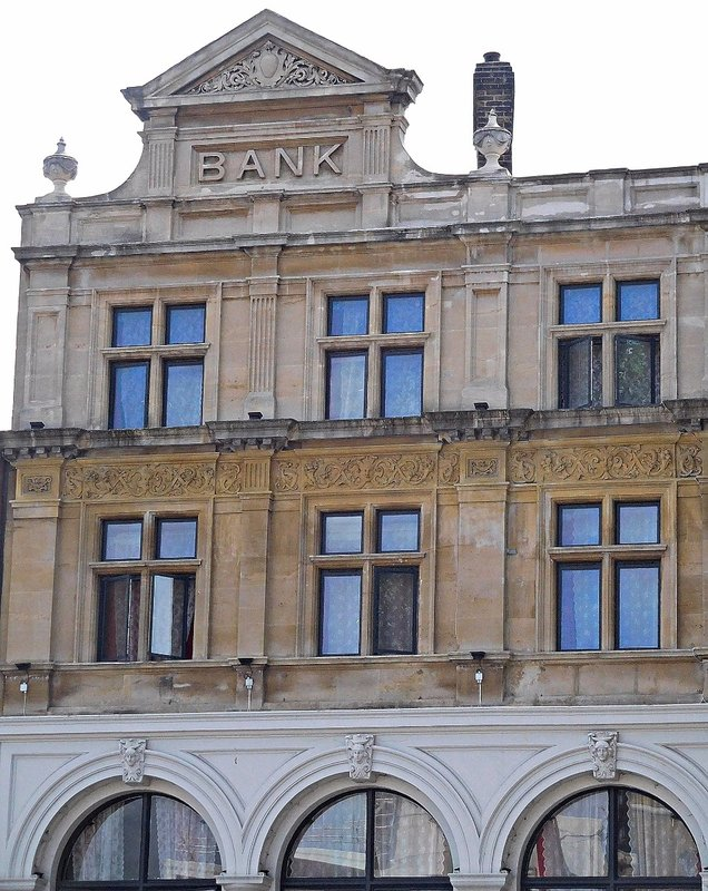 Old bank Whitechapel Rd