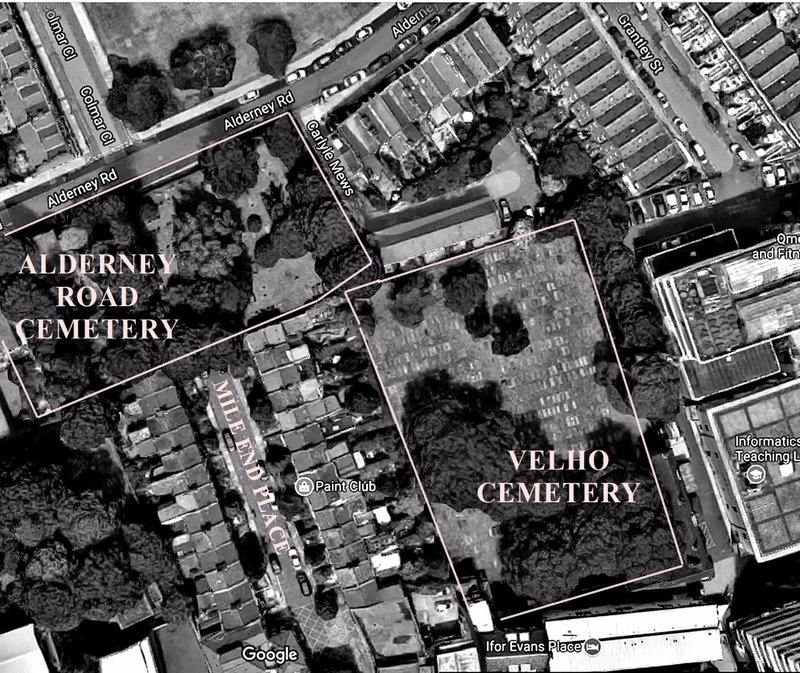 Hidden Jewish cemeteries from the air