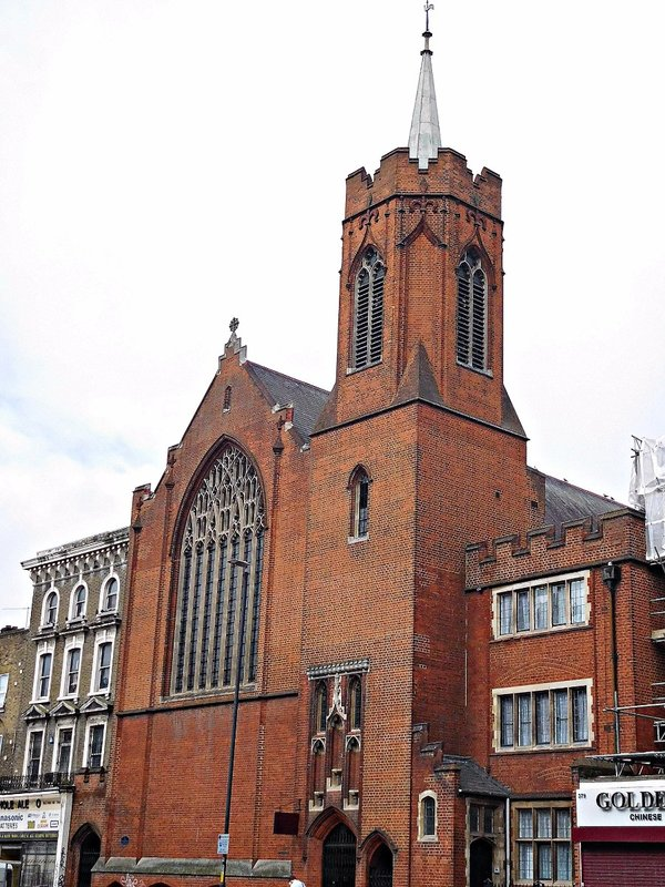 Guardian Angels RC Church Mile End Rd