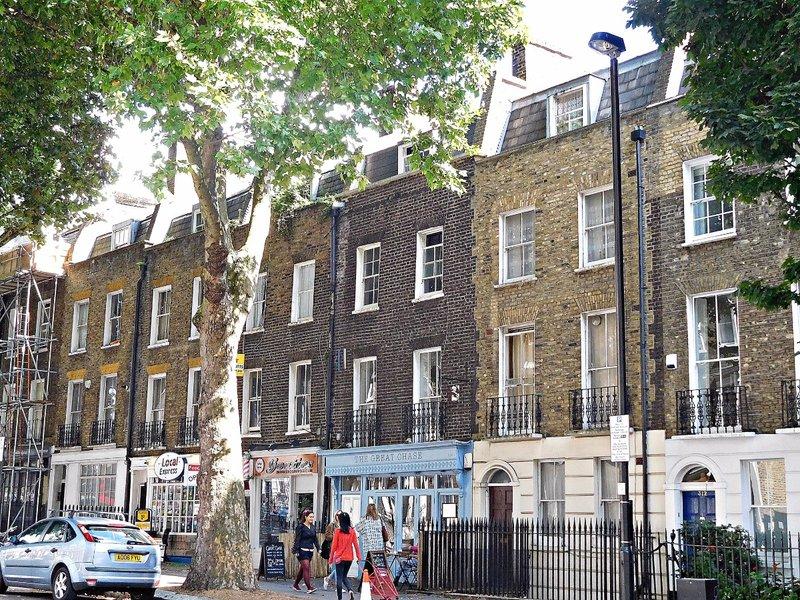 St Johns Str opposite Spa Green Estate
