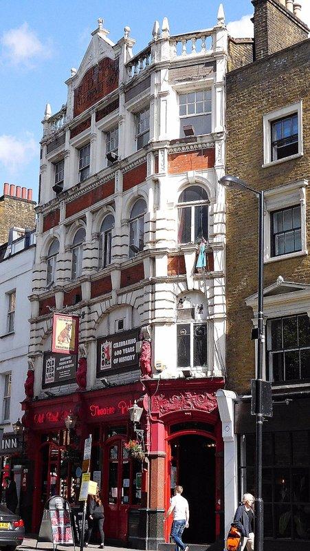 Old Red Lion theatre pub