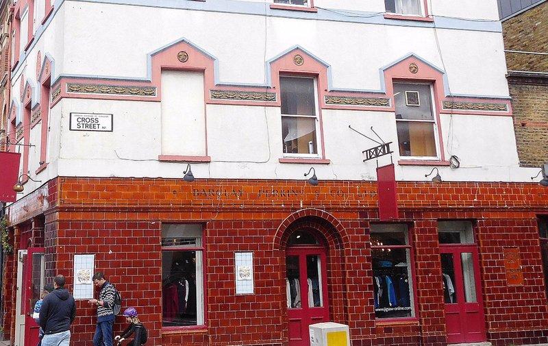Former Old Parrs Head pub