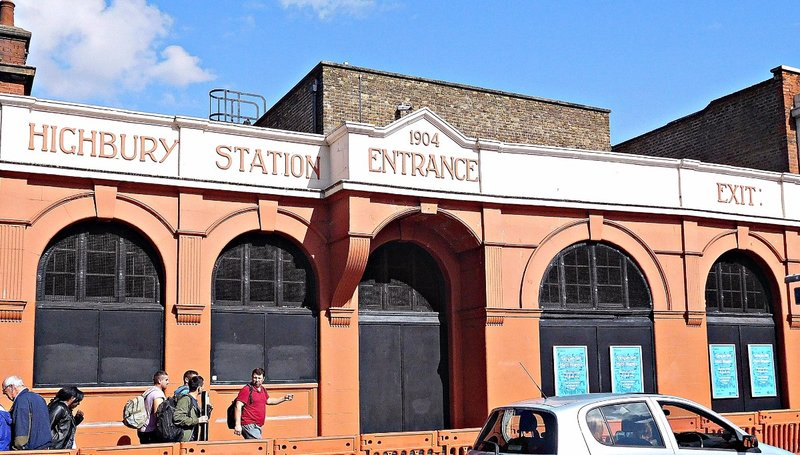 Old Highbury tube station