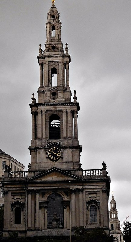 St Mary le Strand and St Clement Danes