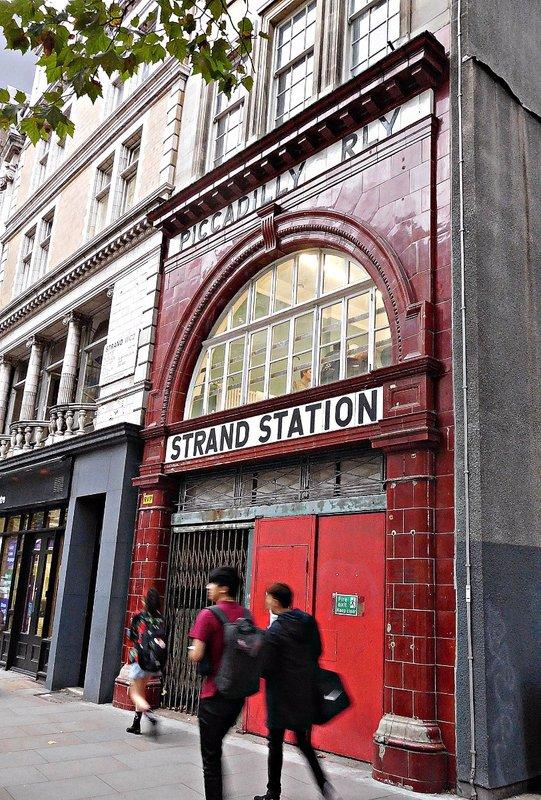 Strand Station Strand entrance