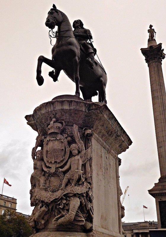 Charles I monument