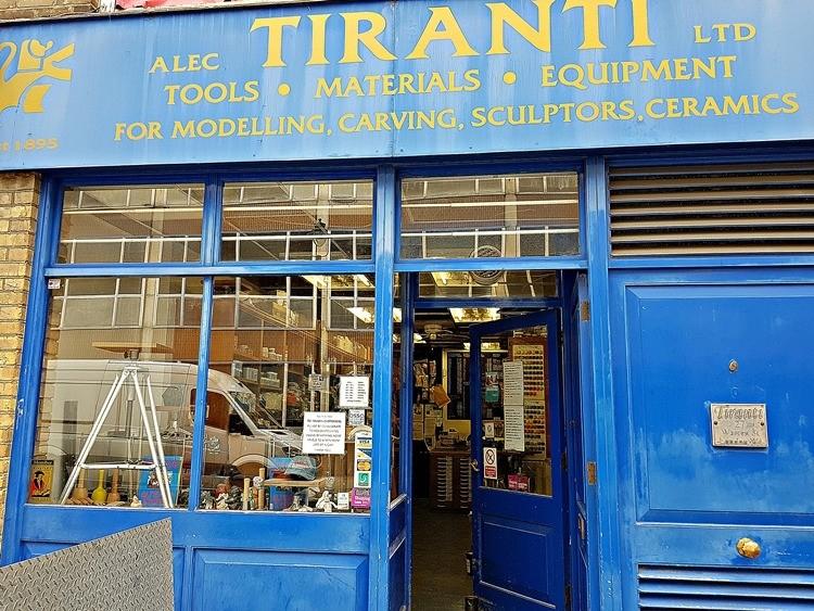 Tiranti, Warren Street
