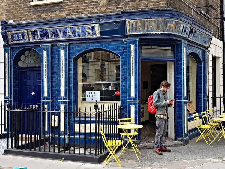 Evans Dairy, Warren Street