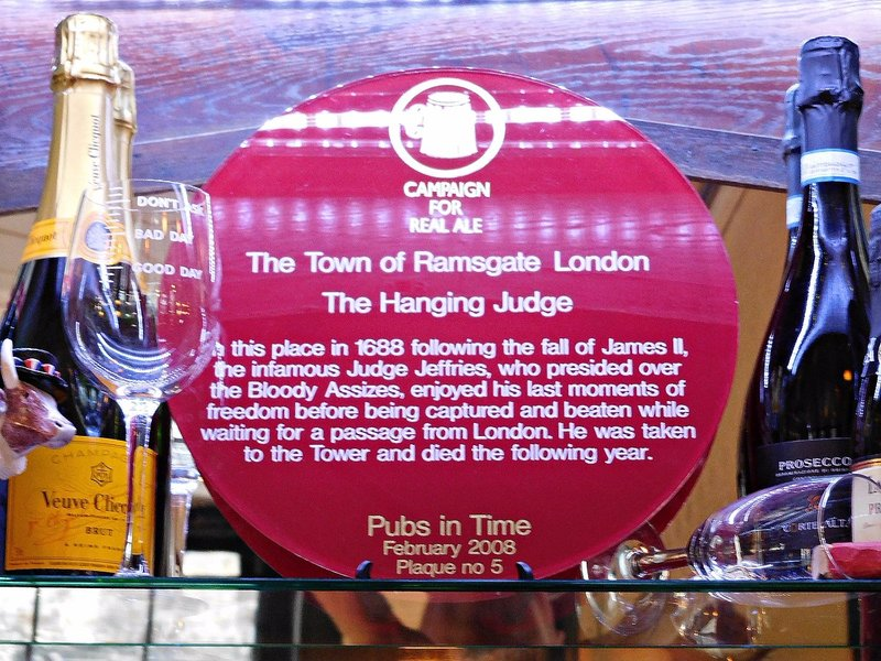 Town of Ramsgate: Judge Jeffries plaque