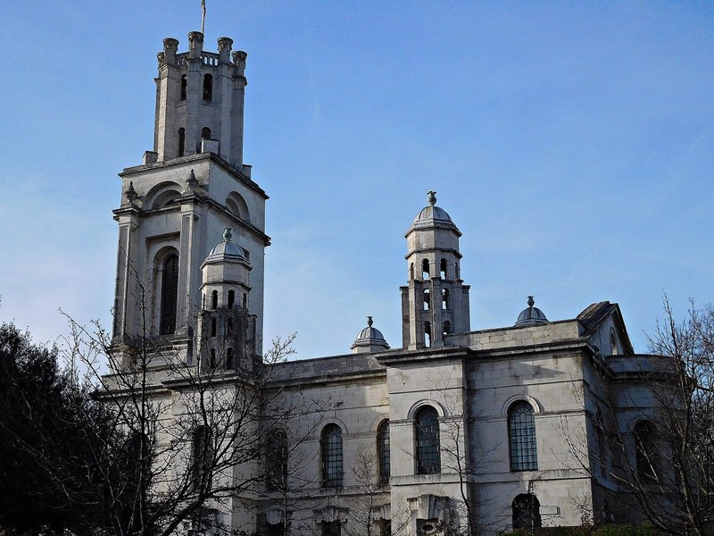 St George in the East: Hawksmoor's church