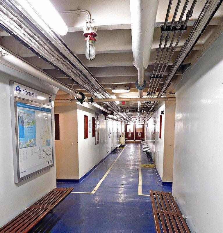 Woolwich Free Ferry passenger deck