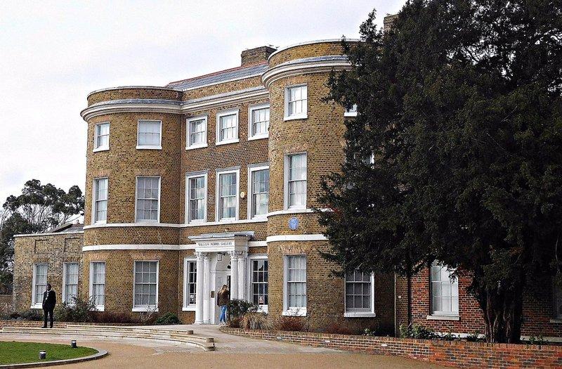 William Morris Gallery: Exterior, front aspect