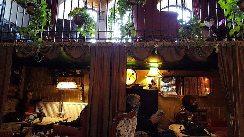 WROCM 12c tea room at Hala Targowa