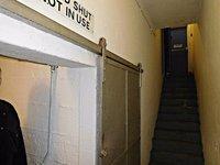 BATA 4m Bata cinema stairs to bunker under stage