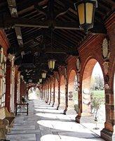 HOOP 15 CREMATORIUM Garden cloisters