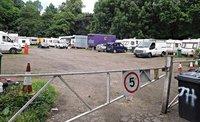 VALE 4a Caravan site