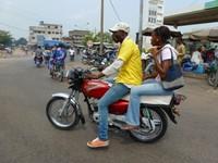 Taxi Moto, Cotonou, Benin