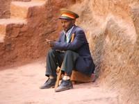 The Shoe Keeper, :Lalibela, Ethiopia