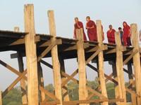U Bein Bridge, Mandalay