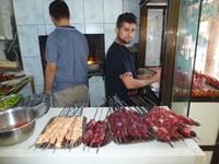 Fresh kebabs in Iraq
