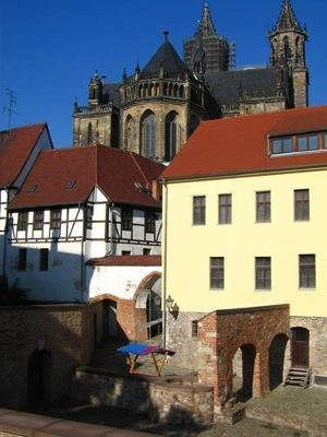 Dom, former Bishop's palace and excavations - Magdeburg