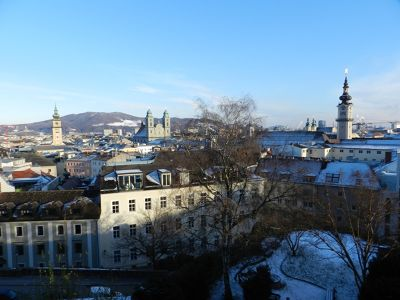 Schloss: View from the Terrace - Linz