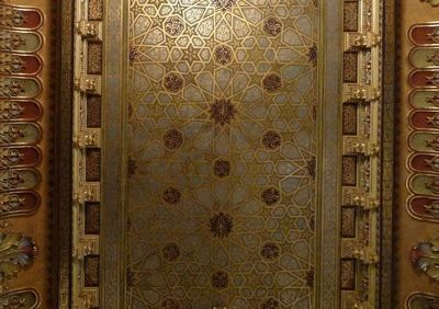 Tempel Synagogue, vaulted ceiling - Krakow