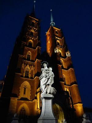 Blue Hour in Ostrow Tumski - Wroclaw