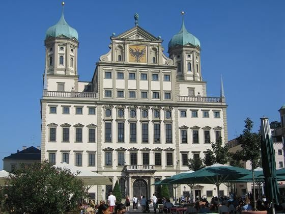 The magnificent city hall - Augsburg