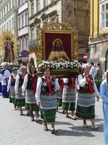 Corpus Christi Procession (1) - Krakow
