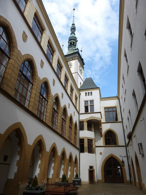 Inner courtyard - Olomouc