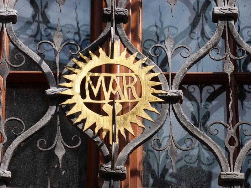"""Monogramm """"Maria"""" - Olomouc"""