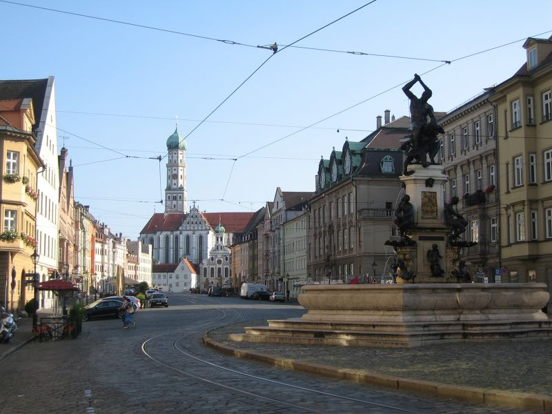 Maximilianstraße - Augsburg