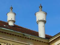 Remarkable chimneys - Landshut