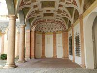 Arcade in the courtyard - Landshut