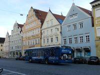 Bus 3 in front of my hotel in Neustadt - Landshut