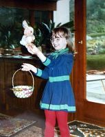 Easter egg (and bunny) hunt 1972 - Germany