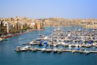 The Harbour in Valletta - Valletta