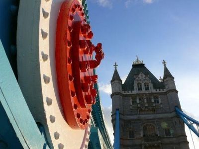 Tower Bridge detail - London